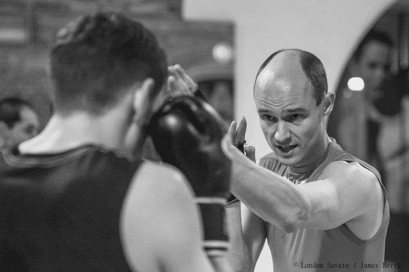 James Southwood coaching Savate