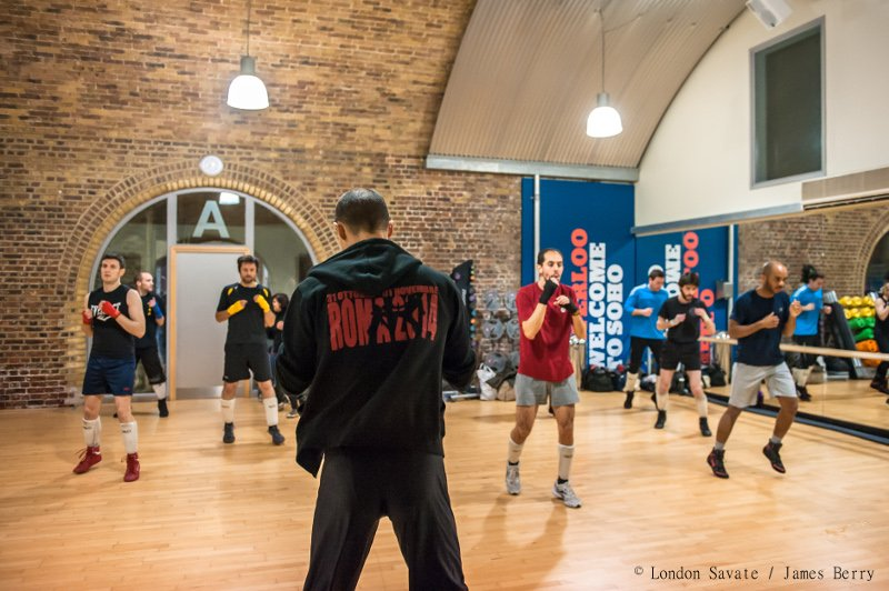 London Savate club class