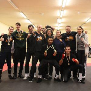 London Savate club team at Irish Open 2019