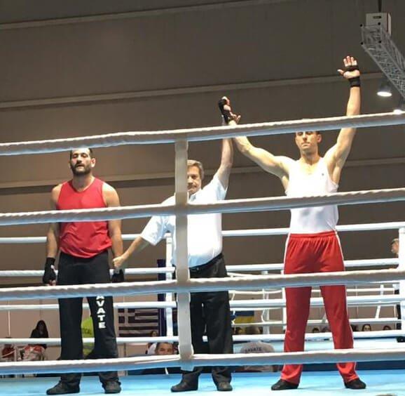 Jon Schwochert wins Savate fight