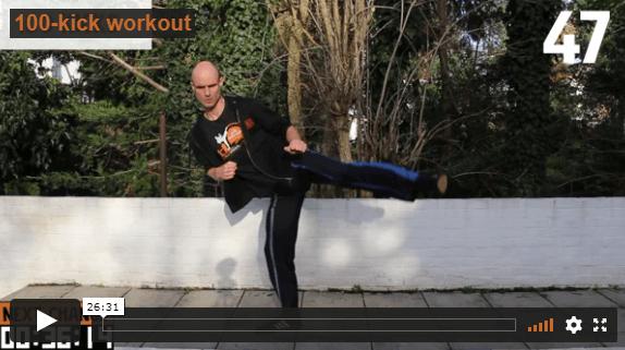 World Academy 100-kick workout