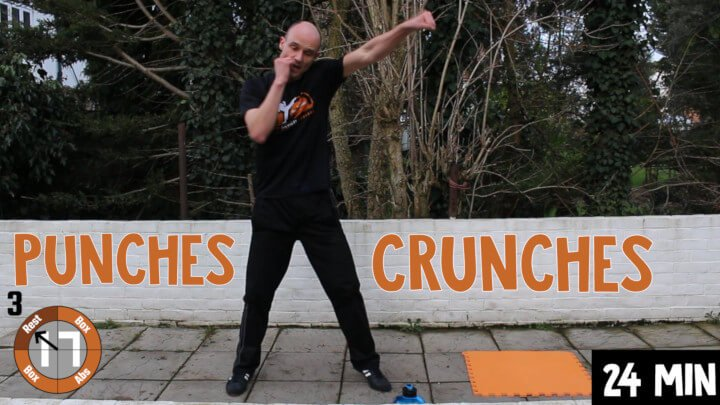 Punches 'n' Crunches 20min workout