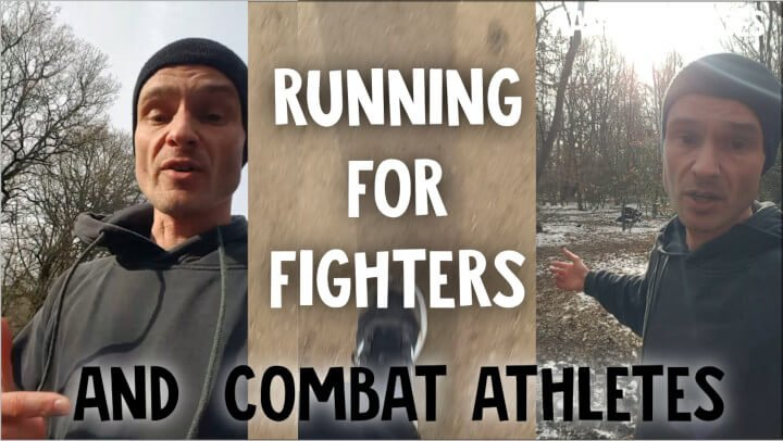 Running training for fighters and combat athletes