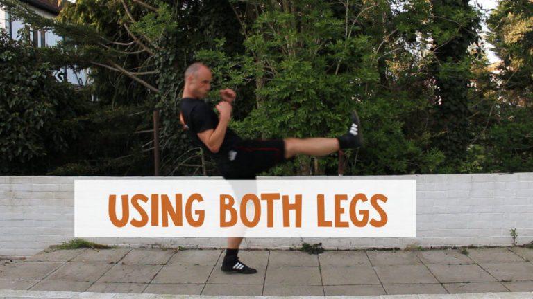 Using Both Legs