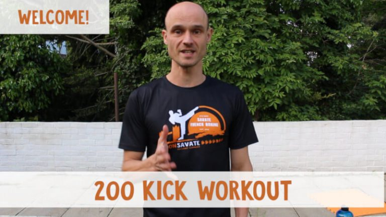 200-Kick Workout