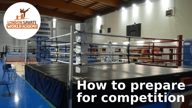 How to prepare for Savate competition
